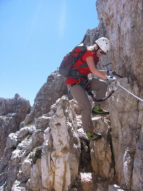 Foto: Andreas Koller / Klettersteig Tour / Via ferrata Averau neu (2649m) / 15.06.2009 23:55:43