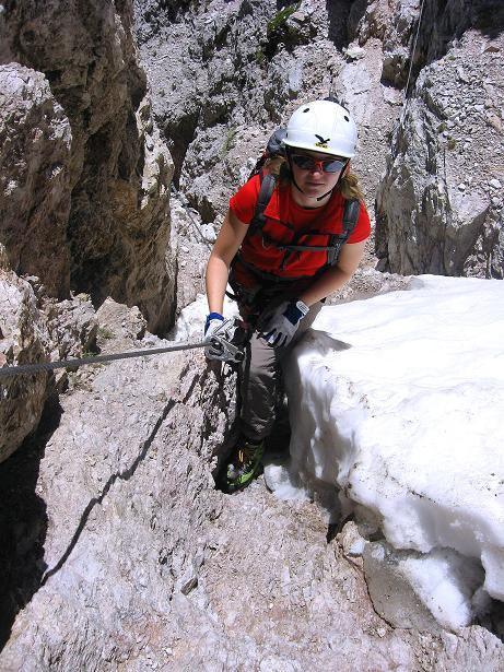 Foto: Andreas Koller / Klettersteig Tour / Via ferrata Averau neu (2649m) / 15.06.2009 23:55:35