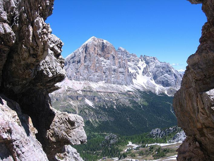 Foto: Andreas Koller / Klettersteig Tour / Via ferrata Averau neu (2649m) / 15.06.2009 23:55:26