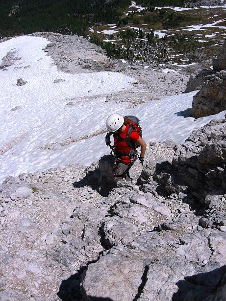 Foto: Andreas Koller / Klettersteig Tour / Via ferrata Averau neu (2649m) / 15.06.2009 23:54:40