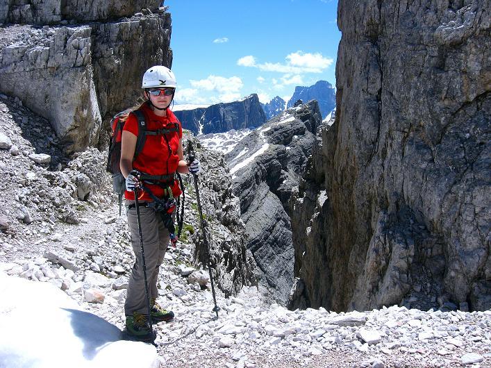 Foto: Andreas Koller / Klettersteig Tour / Via ferrata Averau neu (2649m) / 15.06.2009 23:54:29