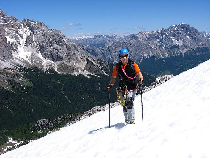 Foto: Andreas Koller / Klettersteig Tour / Via ferrata Averau neu (2649m) / 15.06.2009 23:54:20