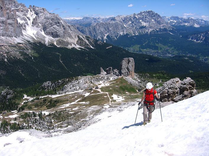 Foto: Andreas Koller / Klettersteig Tour / Via ferrata Averau neu (2649m) / 15.06.2009 23:53:05