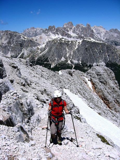 Foto: Andreas Koller / Klettersteig Tour / Via ferrata Averau neu (2649m) / 15.06.2009 23:52:57
