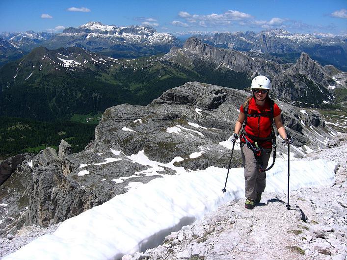 Foto: Andreas Koller / Klettersteig Tour / Via ferrata Averau neu (2649m) / 15.06.2009 23:52:47