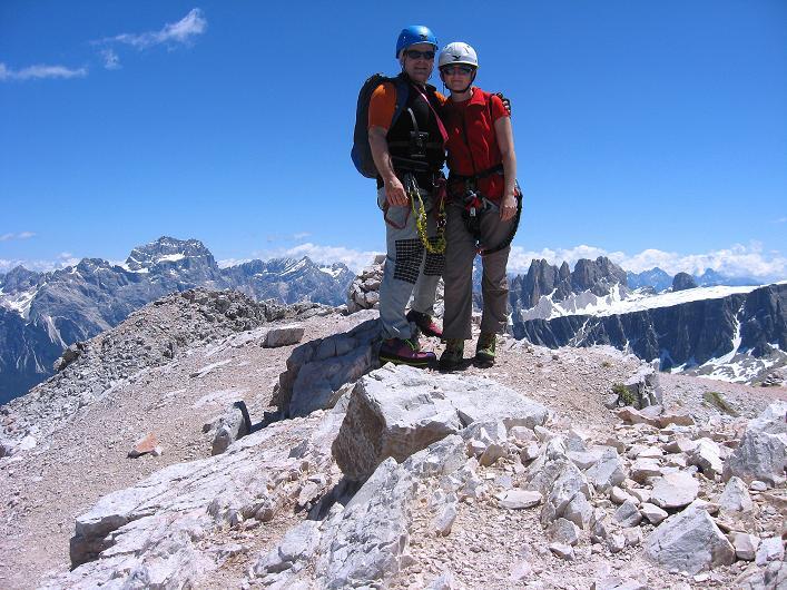 Foto: Andreas Koller / Klettersteig Tour / Via ferrata Averau neu (2649m) / 15.06.2009 23:51:45