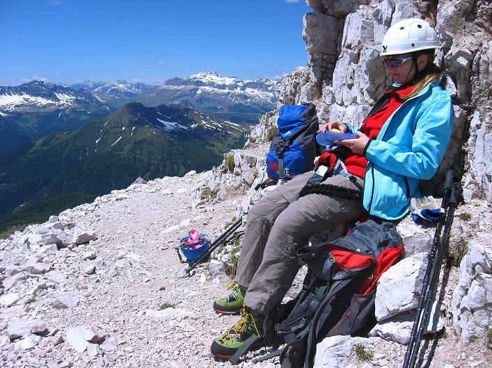 Foto: Andreas Koller / Klettersteig Tour / Via ferrata Averau neu (2649m) / 15.06.2009 23:51:31