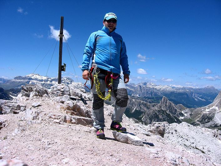 Foto: Andreas Koller / Klettersteig Tour / Via ferrata Averau neu (2649m) / 15.06.2009 23:51:20