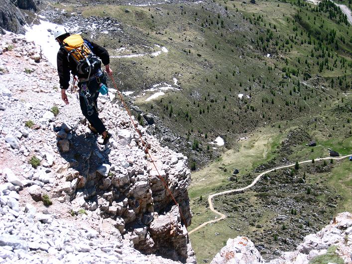Foto: Andreas Koller / Klettersteig Tour / Via ferrata Averau neu (2649m) / 15.06.2009 23:51:10