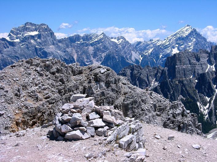 Foto: Andreas Koller / Klettersteig Tour / Via ferrata Averau neu (2649m) / 15.06.2009 23:50:51