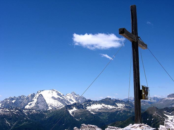 Foto: Andreas Koller / Klettersteig Tour / Via ferrata Averau neu (2649m) / 15.06.2009 23:50:42