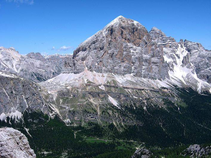 Foto: Andreas Koller / Klettersteig Tour / Via ferrata Averau neu (2649m) / 15.06.2009 23:50:34