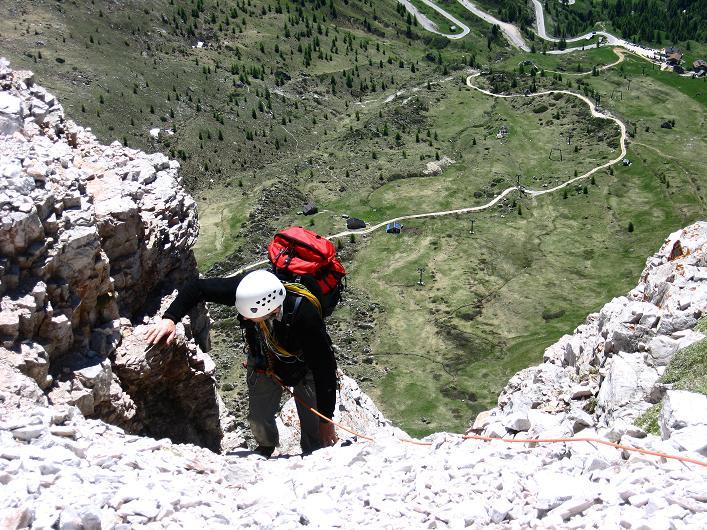 Foto: Andreas Koller / Klettersteig Tour / Via ferrata Averau neu (2649m) / 15.06.2009 23:50:16