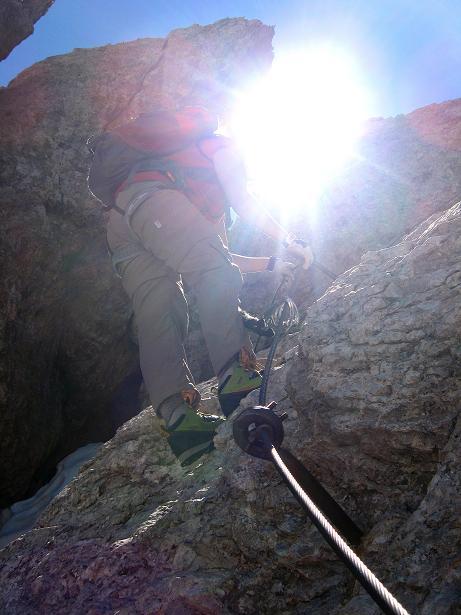 Foto: Andreas Koller / Klettersteig Tour / Via ferrata Averau neu (2649m) / 15.06.2009 23:47:33