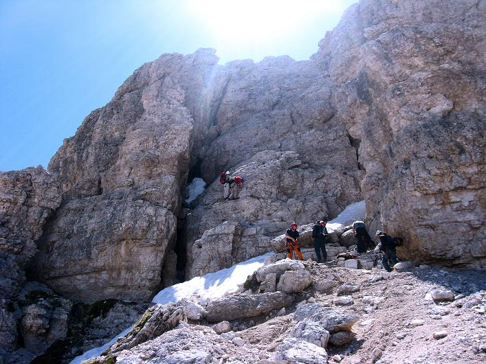 Foto: Andreas Koller / Klettersteig Tour / Via ferrata Averau neu (2649m) / 15.06.2009 23:47:15