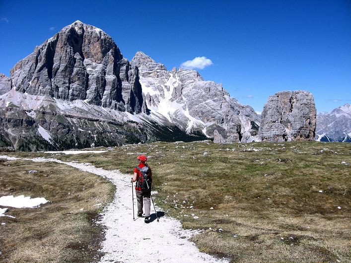 Foto: Andreas Koller / Klettersteig Tour / Via ferrata Averau neu (2649m) / 15.06.2009 23:46:07