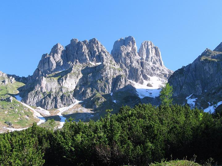 Foto: Andreas Koller / Wander Tour / Normalroute auf die Große Bischofsmütze (2459 m)  / 16.06.2009 23:36:58