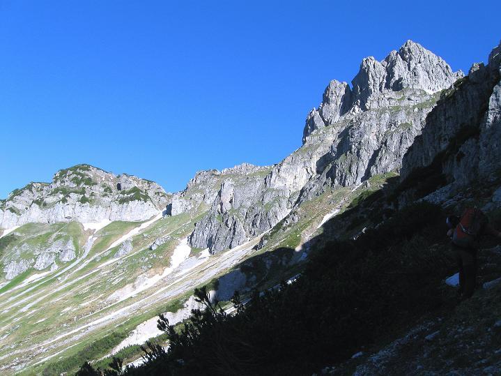 Foto: Andreas Koller / Wander Tour / Normalroute auf die Große Bischofsmütze (2459 m)  / 16.06.2009 23:36:33