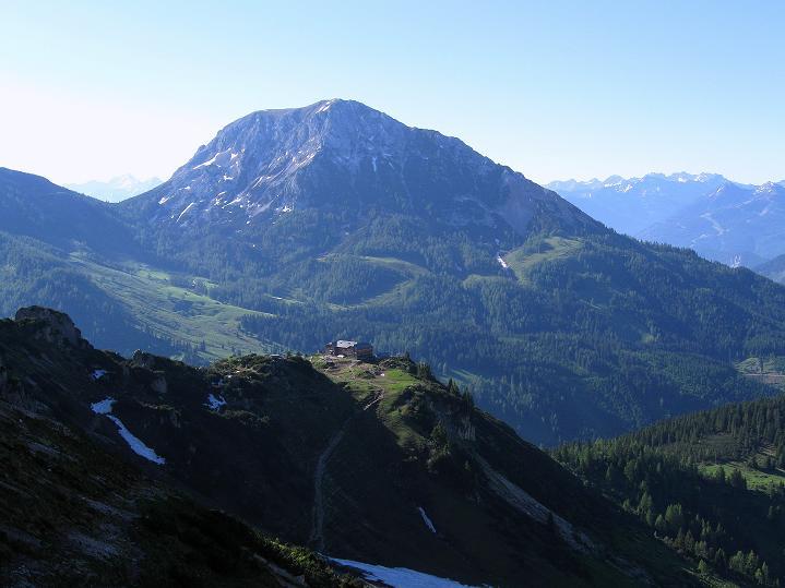 Foto: Andreas Koller / Wander Tour / Normalroute auf die Große Bischofsmütze (2459 m)  / Der Rötelstein (2247 m) / 16.06.2009 23:36:00