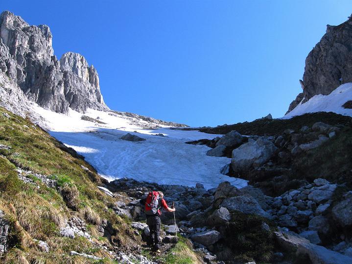 Foto: Andreas Koller / Wander Tour / Normalroute auf die Große Bischofsmütze (2459 m)  / 16.06.2009 23:35:46