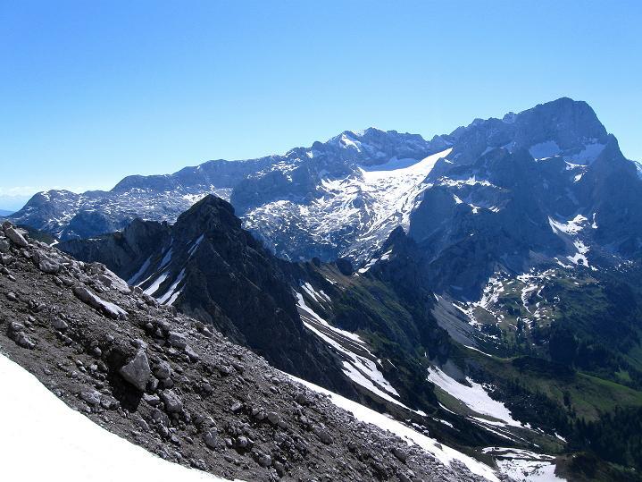 Foto: Andreas Koller / Wander Tour / Normalroute auf die Große Bischofsmütze (2459 m)  / Dachsteinmassiv / 16.06.2009 23:34:01