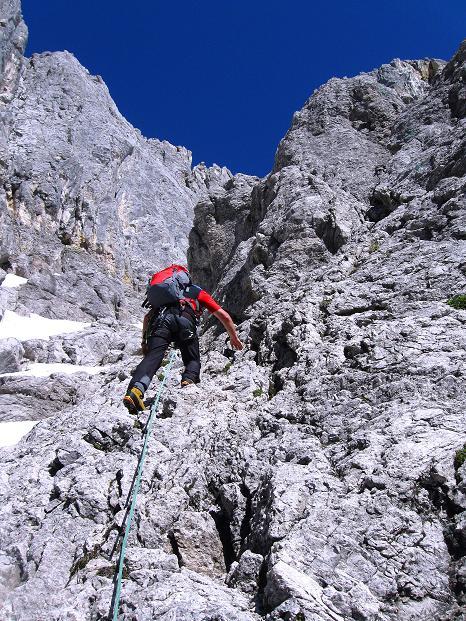 Foto: Andreas Koller / Wander Tour / Normalroute auf die Große Bischofsmütze (2459 m)  / 16.06.2009 23:33:46