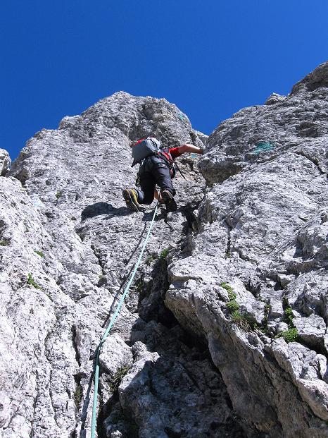Foto: Andreas Koller / Wander Tour / Normalroute auf die Große Bischofsmütze (2459 m)  / 16.06.2009 23:33:38