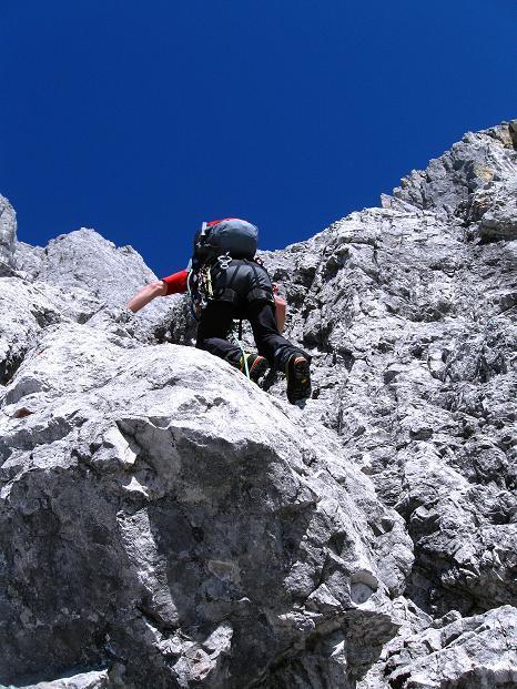 Foto: Andreas Koller / Wander Tour / Normalroute auf die Große Bischofsmütze (2459 m)  / Über den