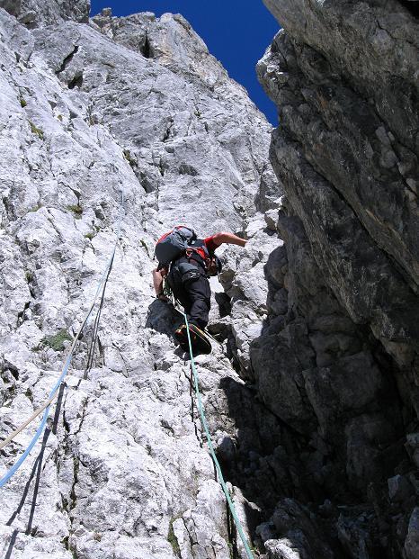 Foto: Andreas Koller / Wander Tour / Normalroute auf die Große Bischofsmütze (2459 m)  / 16.06.2009 23:31:24