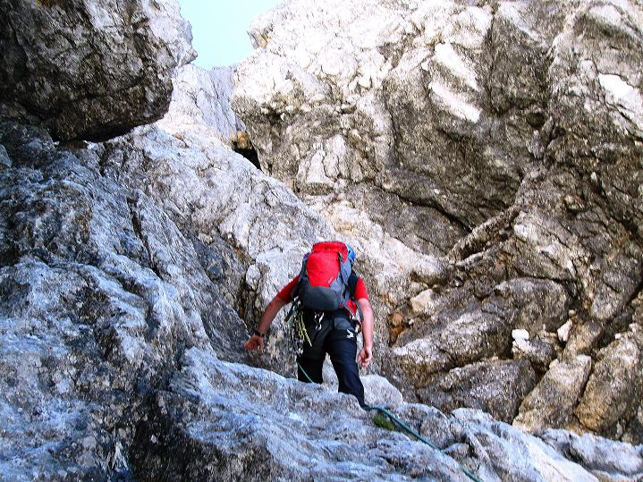 Foto: Andreas Koller / Wander Tour / Normalroute auf die Große Bischofsmütze (2459 m)  / 16.06.2009 23:30:55