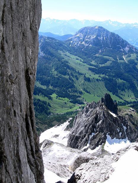 Foto: Andreas Koller / Wander Tour / Normalroute auf die Große Bischofsmütze (2459 m)  / 16.06.2009 23:30:45