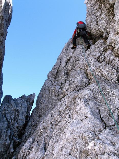Foto: Andreas Koller / Wander Tour / Normalroute auf die Große Bischofsmütze (2459 m)  / 16.06.2009 23:30:22