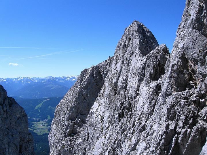 Foto: Andreas Koller / Wander Tour / Normalroute auf die Große Bischofsmütze (2459 m)  / Kleine Bischofsmütze und Schladminger Tauern / 16.06.2009 23:29:52