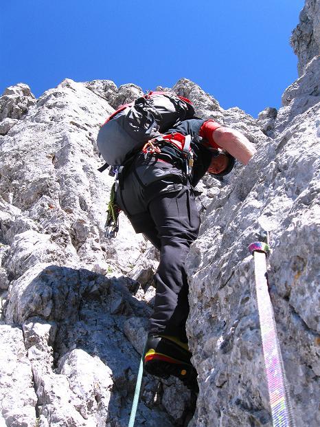 Foto: Andreas Koller / Wander Tour / Normalroute auf die Große Bischofsmütze (2459 m)  / 16.06.2009 23:29:10