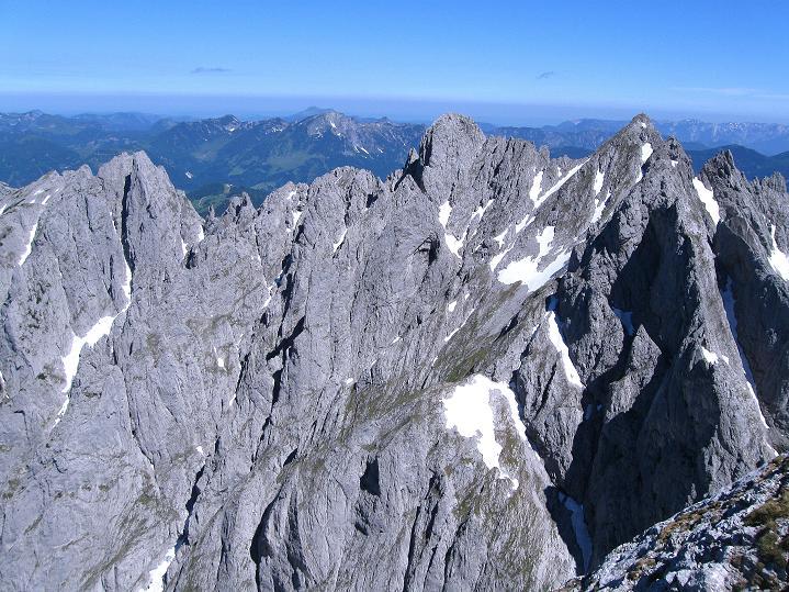 Foto: Andreas Koller / Wander Tour / Normalroute auf die Große Bischofsmütze (2459 m)  / Gosaukamm / 16.06.2009 23:28:11