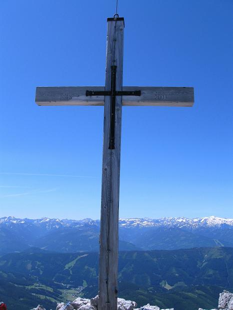 Foto: Andreas Koller / Wander Tour / Normalroute auf die Große Bischofsmütze (2459 m)  / Auf der Großen Bischofsmütze / 16.06.2009 23:27:21