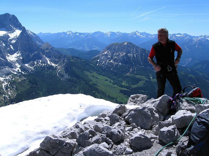 Foto: Andreas Koller / Wander Tour / Normalroute auf die Große Bischofsmütze (2459 m)  / 16.06.2009 23:27:04
