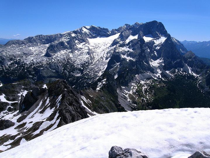 Foto: Andreas Koller / Wander Tour / Normalroute auf die Große Bischofsmütze (2459 m)  / 16.06.2009 23:26:55