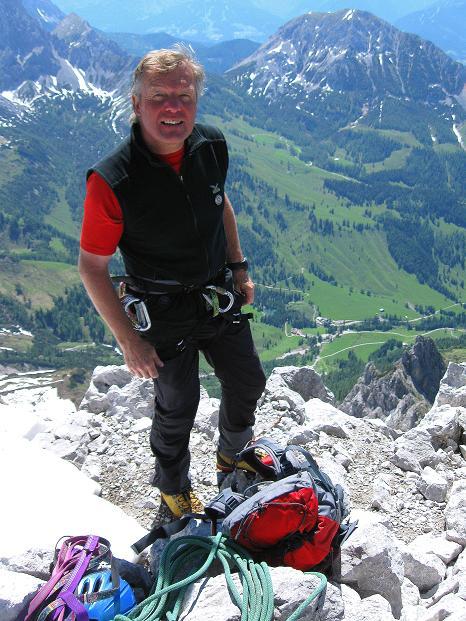 Foto: Andreas Koller / Wander Tour / Normalroute auf die Große Bischofsmütze (2459 m)  / 16.06.2009 23:26:44