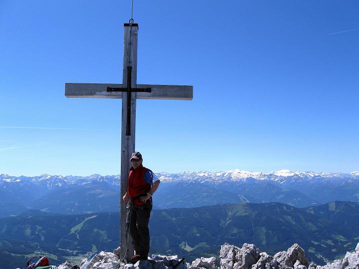 Foto: Andreas Koller / Wander Tour / Normalroute auf die Große Bischofsmütze (2459 m)  / 16.06.2009 23:26:33