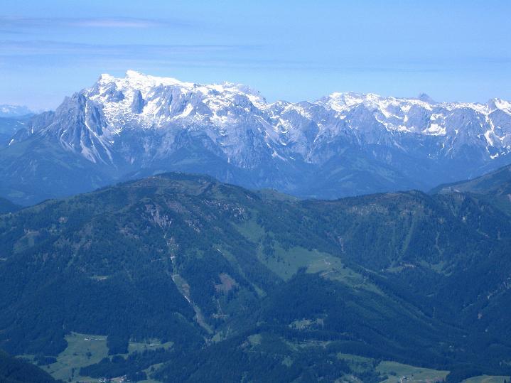 Foto: Andreas Koller / Wander Tour / Normalroute auf die Große Bischofsmütze (2459 m)  / Der Hochkönig (2943 m) / 16.06.2009 23:25:53