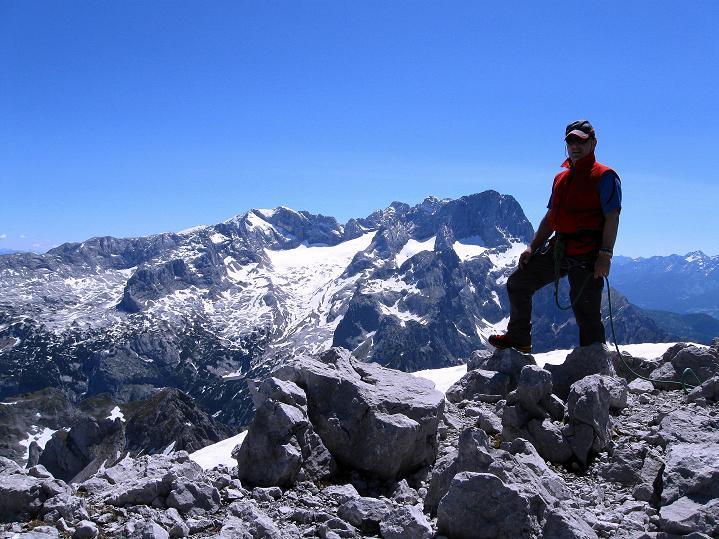 Foto: Andreas Koller / Wander Tour / Normalroute auf die Große Bischofsmütze (2459 m)  / 16.06.2009 23:25:35