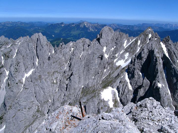Foto: Andreas Koller / Wander Tour / Normalroute auf die Große Bischofsmütze (2459 m)  / Gosaukamm / 16.06.2009 23:24:49