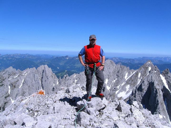 Foto: Andreas Koller / Wander Tour / Normalroute auf die Große Bischofsmütze (2459 m)  / 16.06.2009 23:24:08