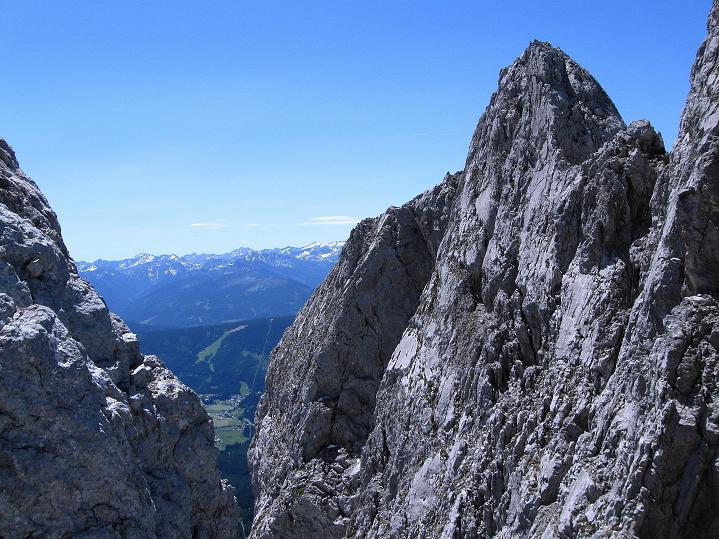 Foto: Andreas Koller / Wander Tour / Normalroute auf die Große Bischofsmütze (2459 m)  / Abstieg von der Bischofsmütze / 16.06.2009 23:23:57