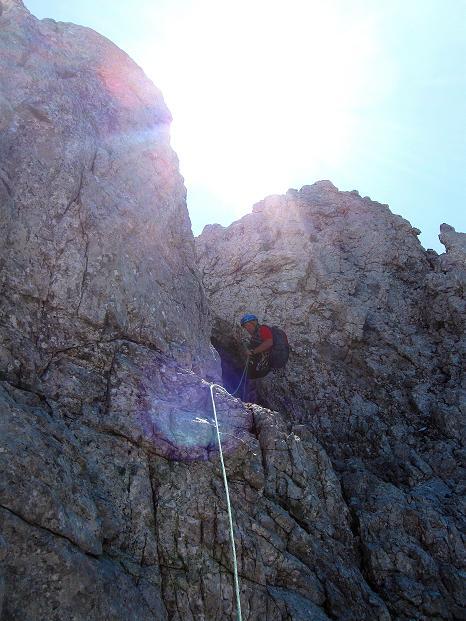 Foto: Andreas Koller / Wander Tour / Normalroute auf die Große Bischofsmütze (2459 m)  / 16.06.2009 23:23:00