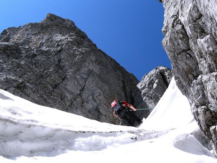 Foto: Andreas Koller / Wander Tour / Normalroute auf die Große Bischofsmütze (2459 m)  / 16.06.2009 23:22:51