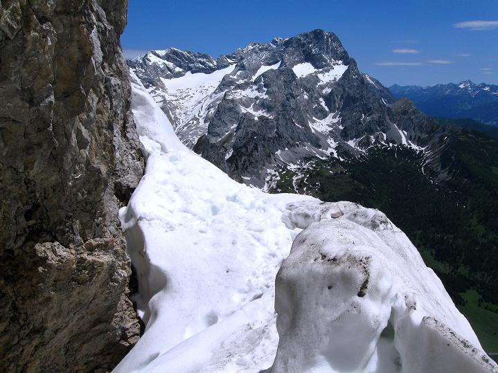 Foto: Andreas Koller / Wander Tour / Normalroute auf die Große Bischofsmütze (2459 m)  / 16.06.2009 23:22:06
