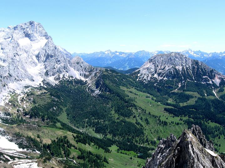 Foto: Andreas Koller / Wander Tour / Normalroute auf die Große Bischofsmütze (2459 m)  / 16.06.2009 23:20:35