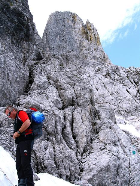 Foto: Andreas Koller / Wander Tour / Normalroute auf die Große Bischofsmütze (2459 m)  / 16.06.2009 23:20:14